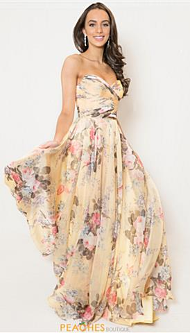 1fed39aa7657 Print Prom Dresses, Prom Gowns & Homecoming Dresses