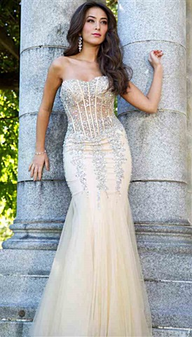 Mermaid Homecoming Dresses | Peaches Boutique